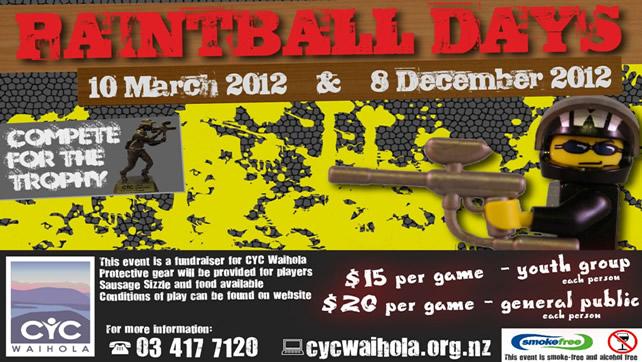 December 2012 Paint-ball Day