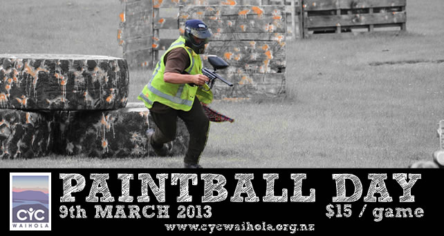 March Paint-ball Day