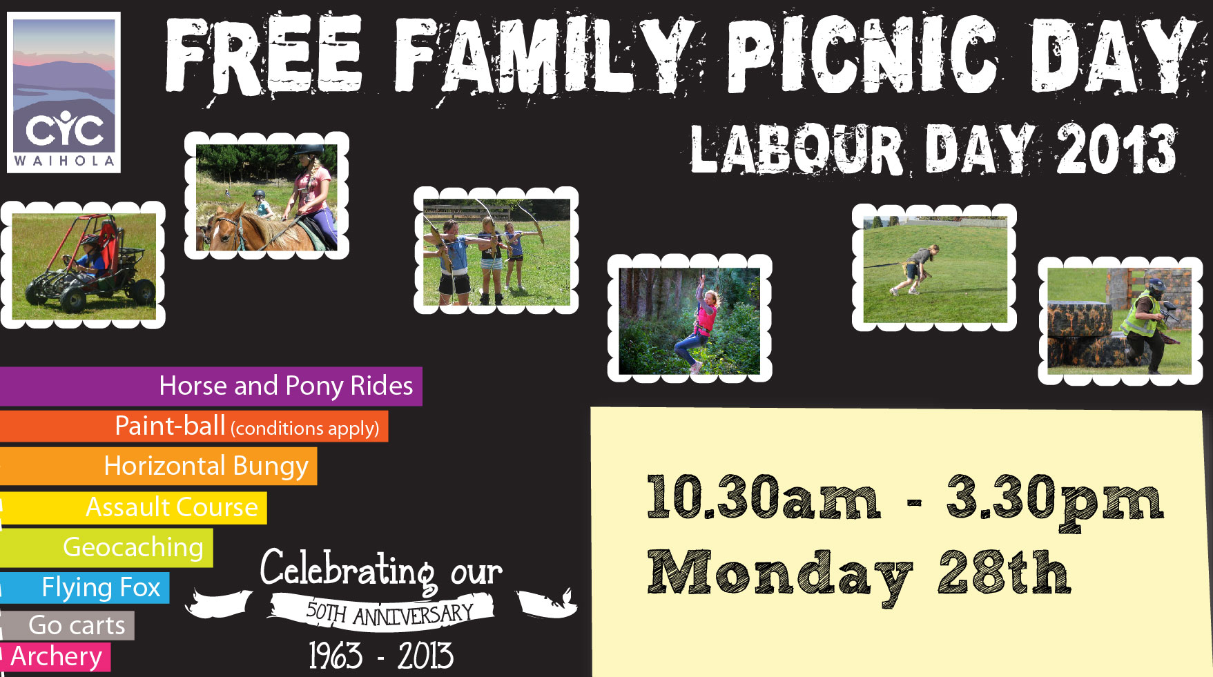 Free Family Picnic Day