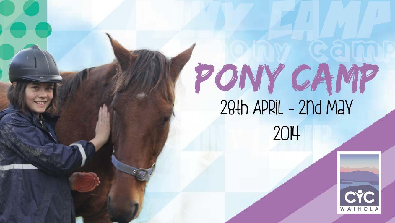 2014 Pony Camp