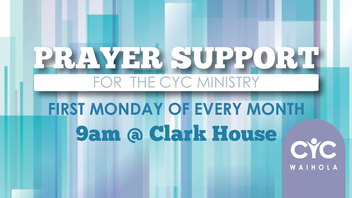 Monthly Prayer Support
