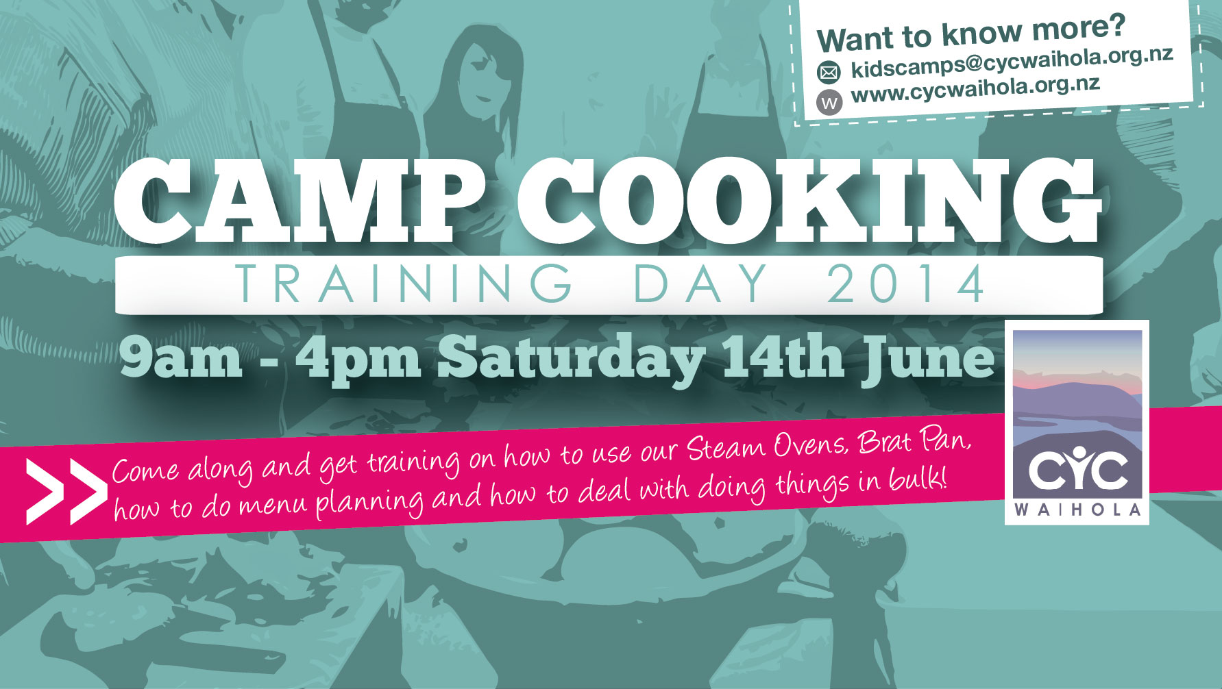 Camp Cooking Training Day