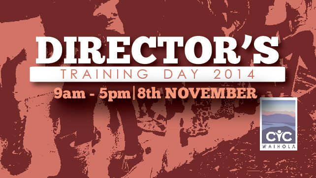 2014 Director's Training