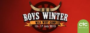 2015 Boys Winter Camp