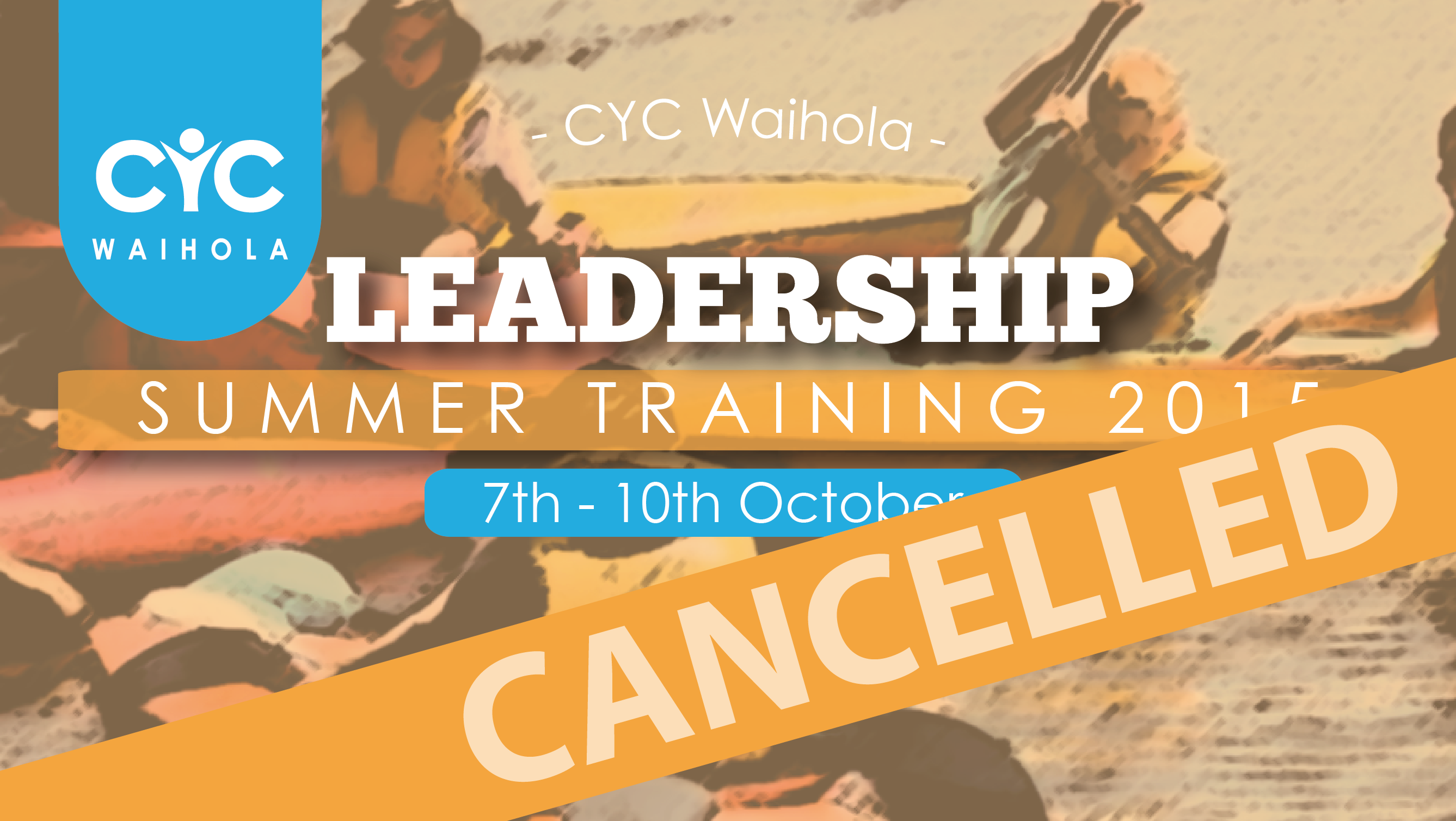 2015 Leadership Summer Training – Cancelled