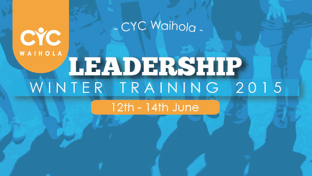 2015 Leadership Winter Training