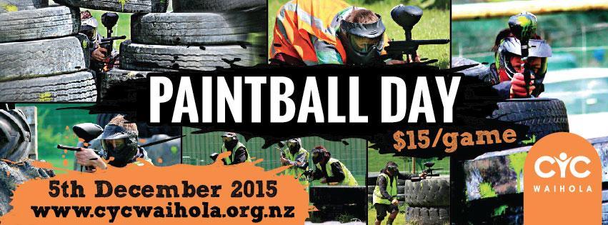 2015 Paintball Day Decemeber