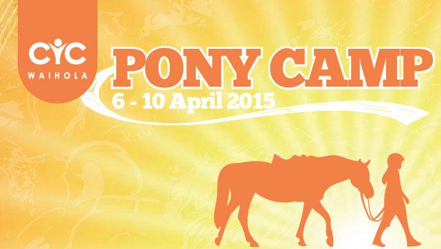 2015 Pony Camp