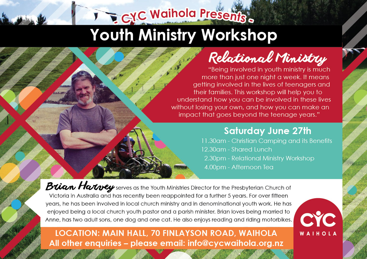 CYC Youth Ministry Workshop