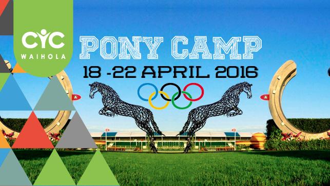 2016 Pony Camp