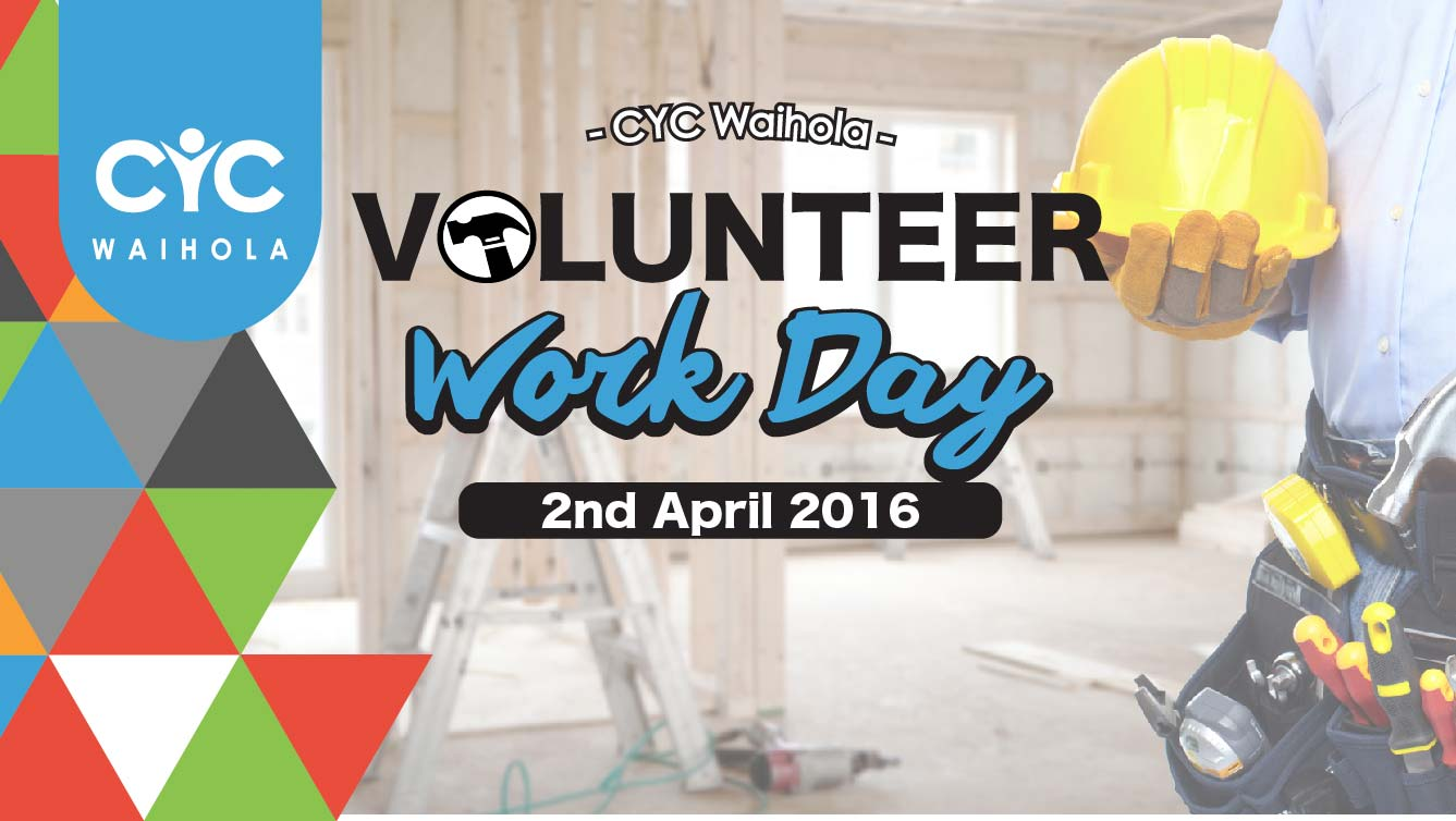 2016 April Volunteer Work Day