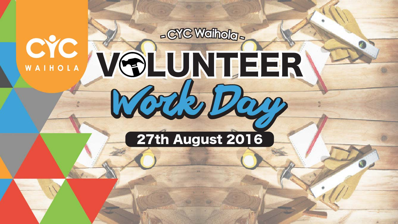 2016 August Volunteer Work Day