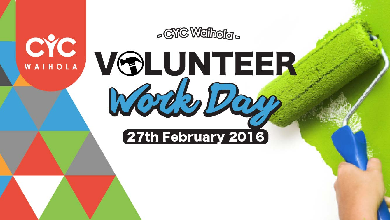 2016 February Volunteer Work Day