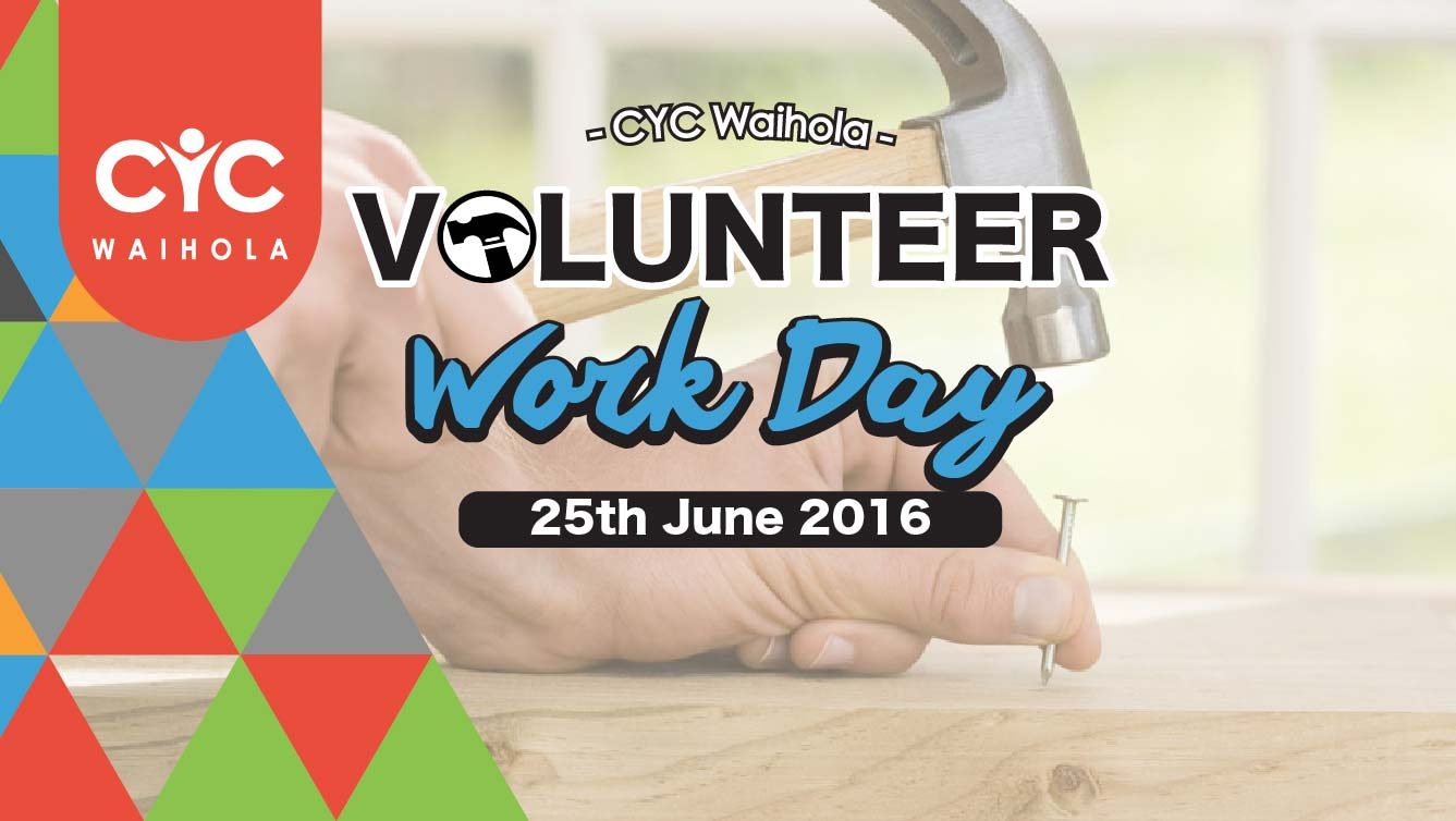 2016 June Volunteer Work Day