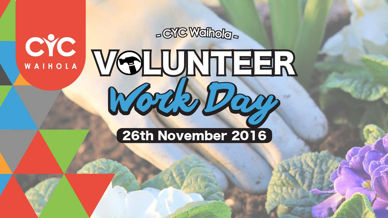 2016 November Volunteer Work Day