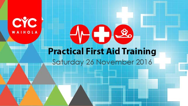 2016 First Aid Refresher and Training Course