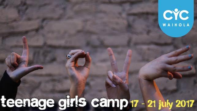 2017 Teenage Girls Camp