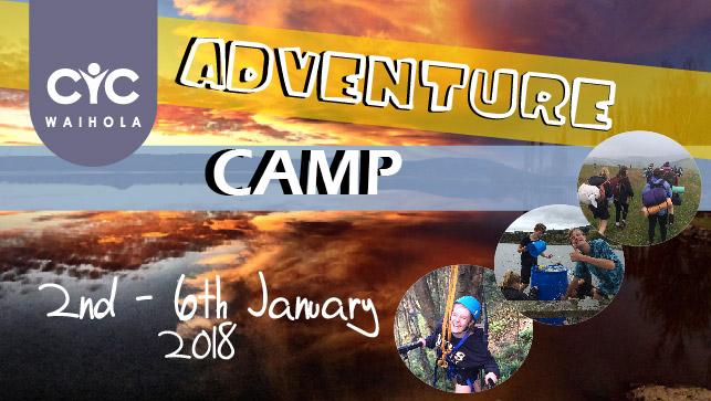 2018 Adventure Camp