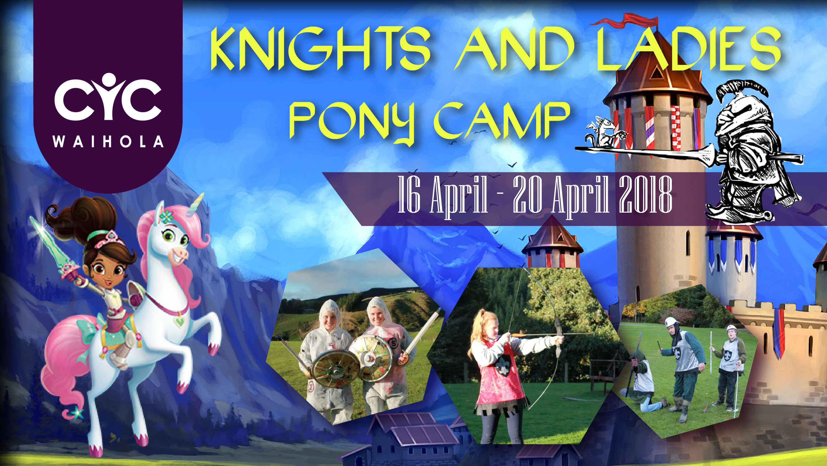 2018 Pony Camp: Knights and Ladies