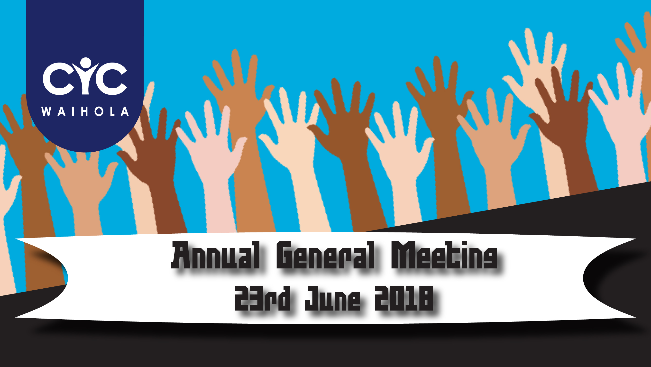 Annual General Meeting for CYC 2018
