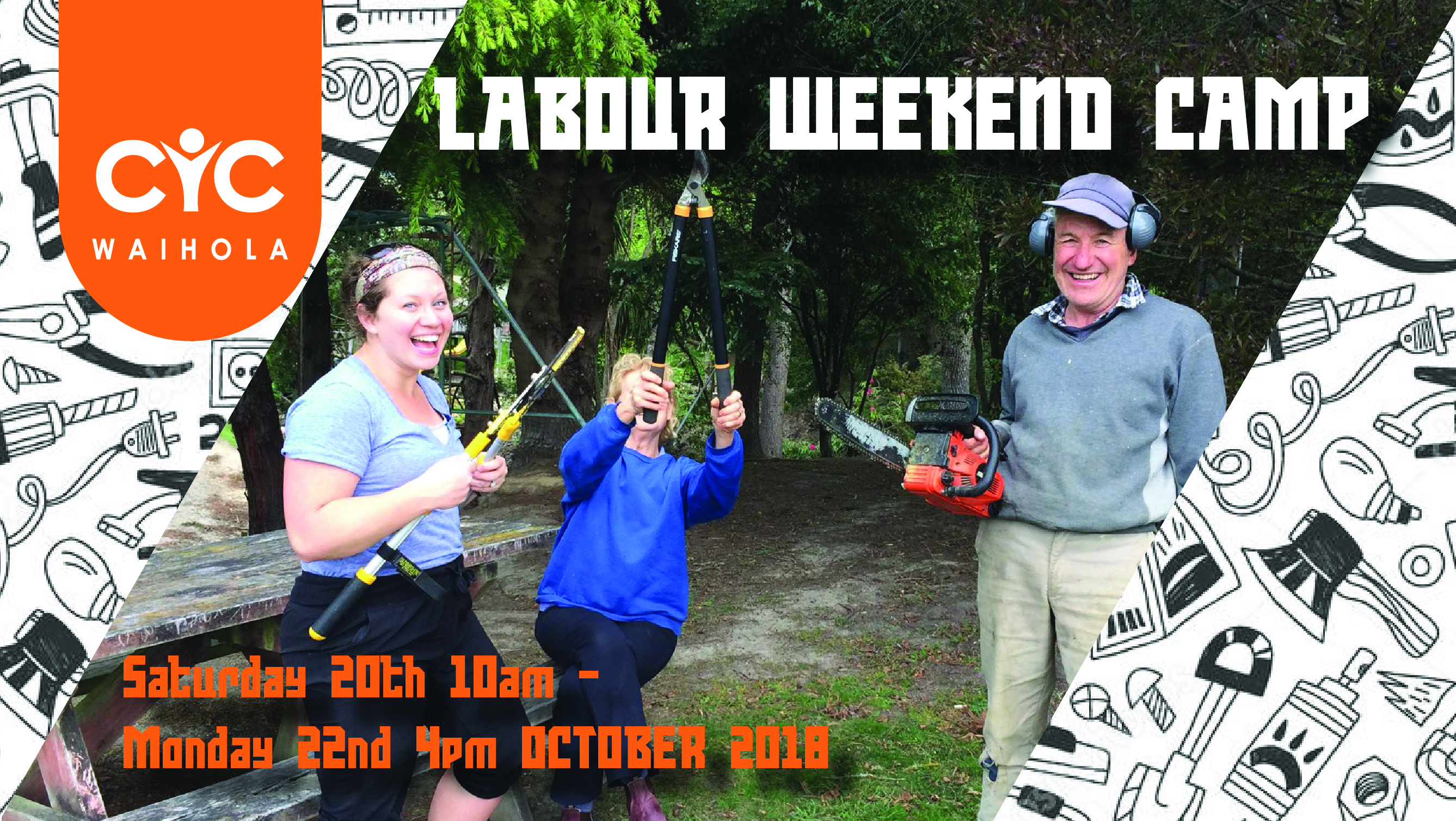 Labour Weekend Camp 2018