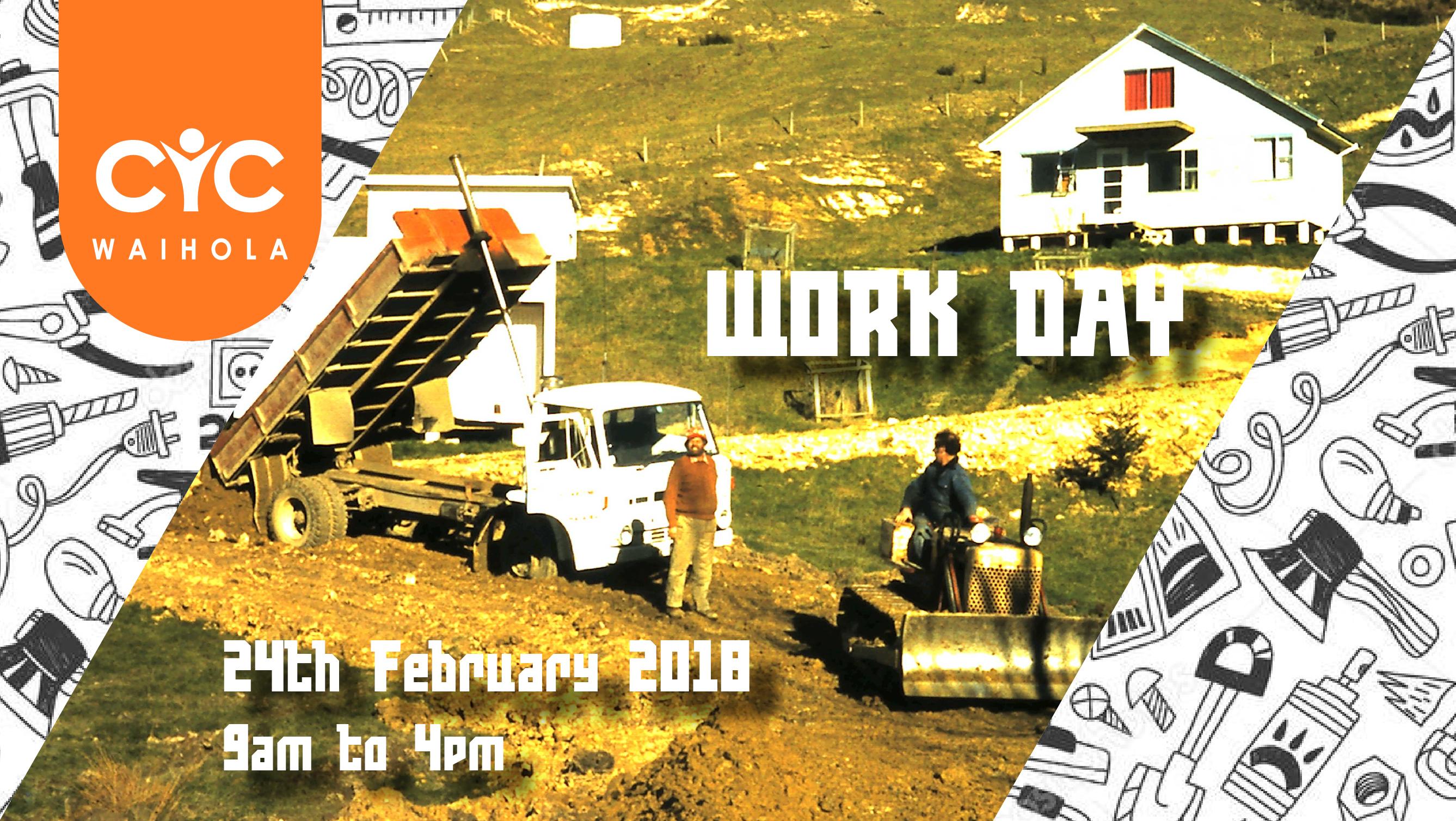 Work Day 24th February 2018