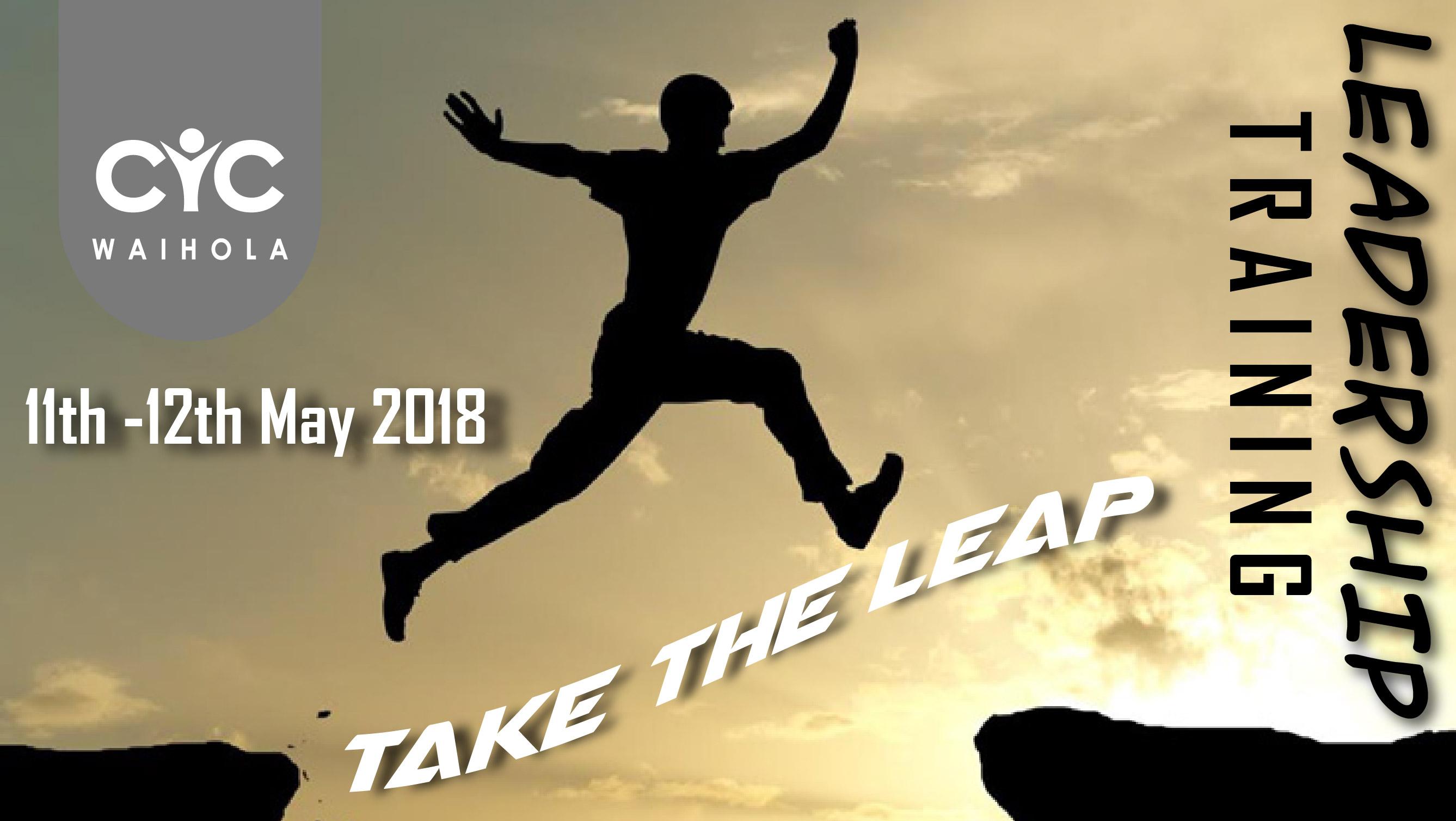 Leadership Training Weekend 11th – 12th May 2018