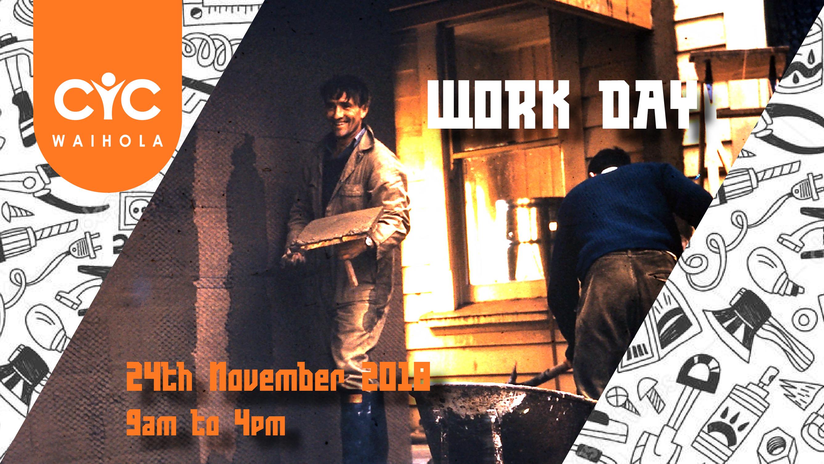 Work Day 24th November 2018