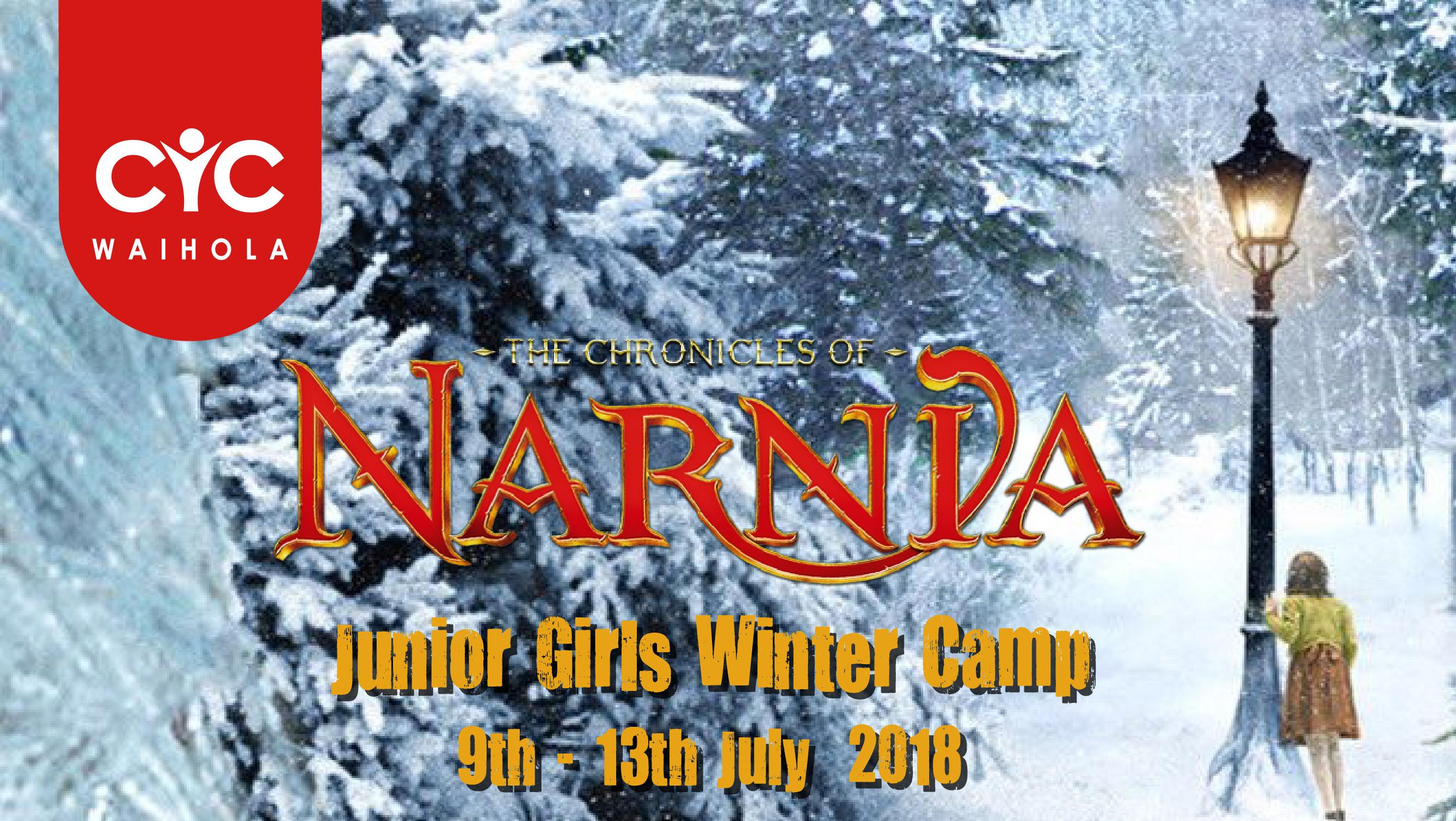 2018 Girls Winter Camp: Narnia