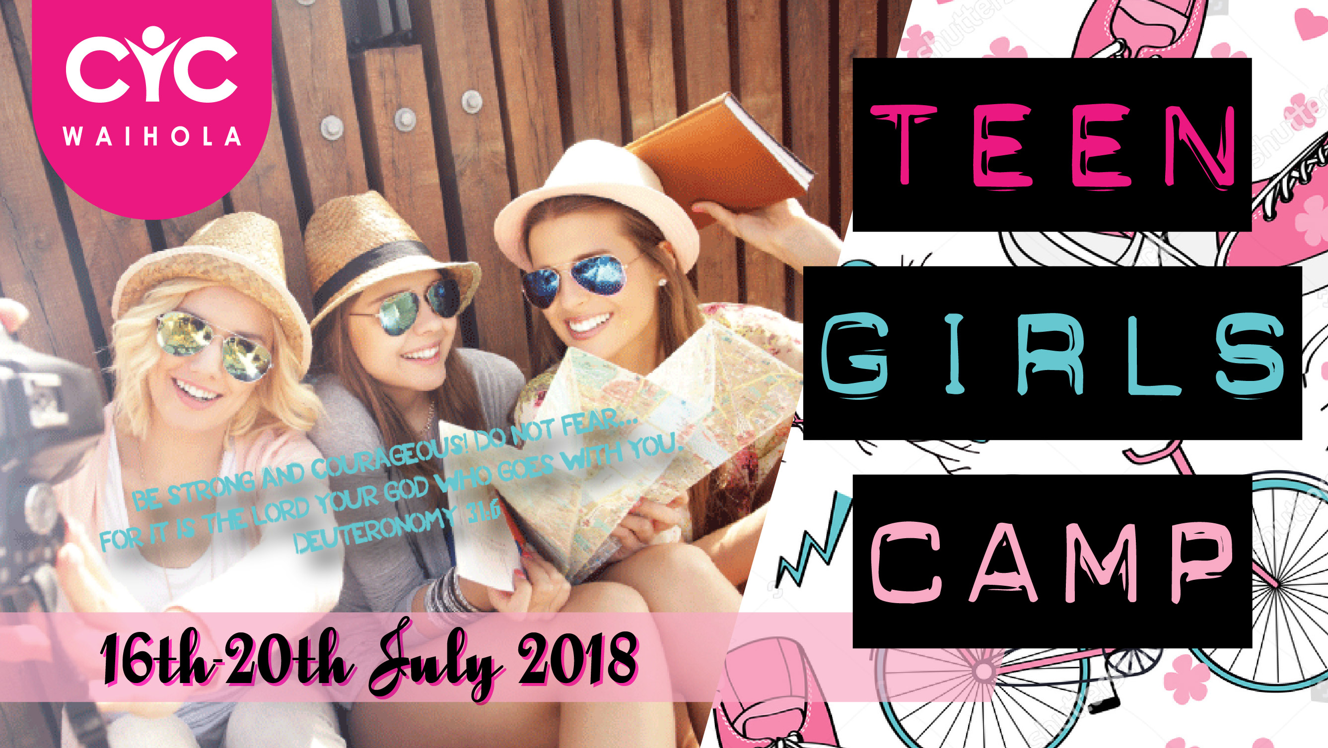 2018 Teen Girls Camp