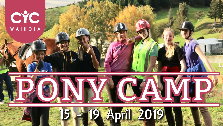 2019 Pony Camp