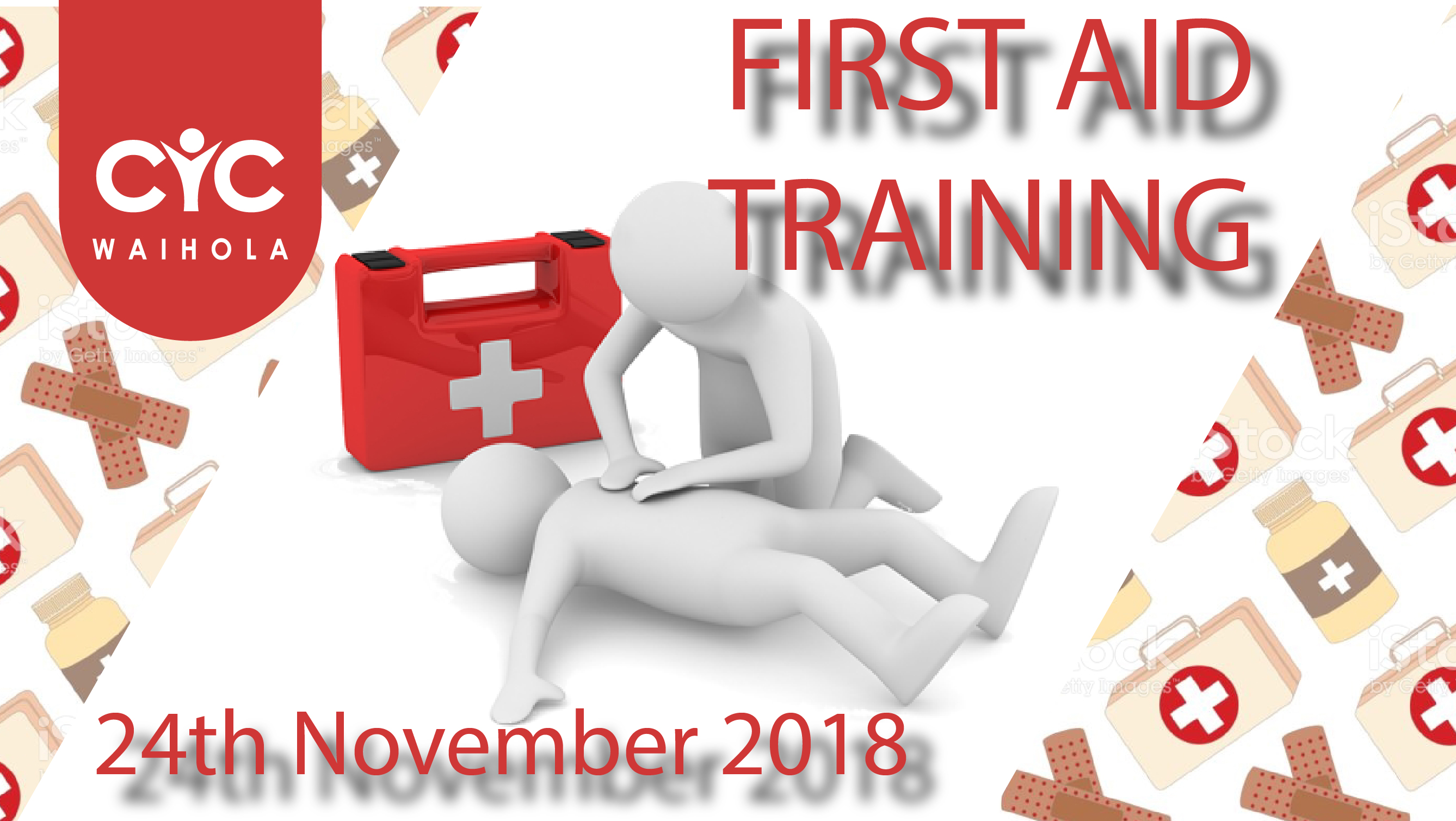 2018 First Aid Training + Refresher Courses
