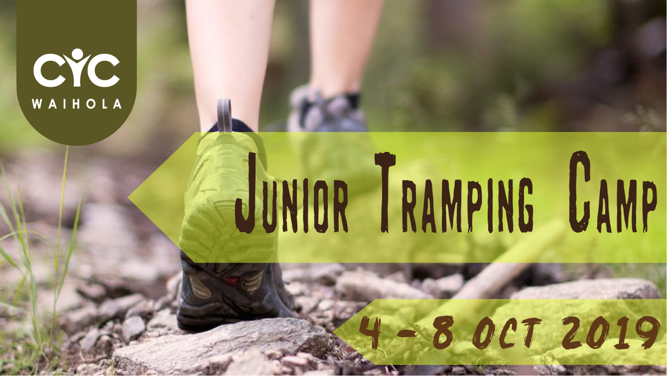 2019 Junior Tramping Camp